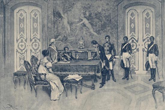 'The Arrest of Ferdinand', 1807, (1896)-Unknown-Giclee Print
