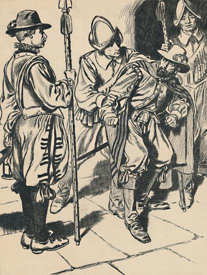 'The Arrest of Guy Fawkes', c1907-Unknown-Giclee Print