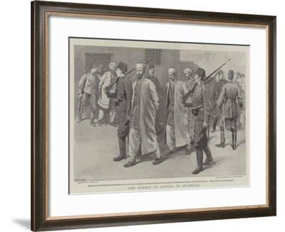 The Arrest of Softas in Stamboul-Joseph Nash-Framed Giclee Print