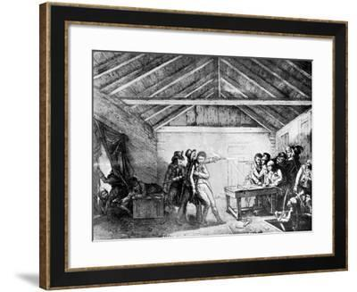 The Arrest of the Cato Street Conspirators, February 23, 1820--Framed Giclee Print