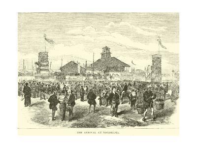 The Arrival at Yokohama--Giclee Print