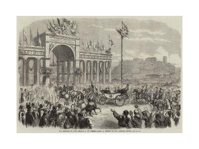 The Arrival of King George I at Athens--Giclee Print