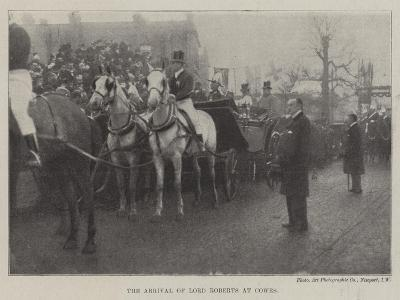 The Arrival of Lord Roberts at Cowes--Giclee Print