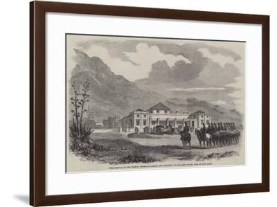 The Arrival of the French Generals Jarmin and Collineau at Sea-Point House, Cape of Good Hope--Framed Giclee Print