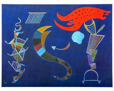 The Arrow, 1943-Wassily Kandinsky-Art Print