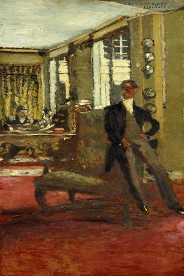 The Art Dealers-Edouard Vuillard-Giclee Print