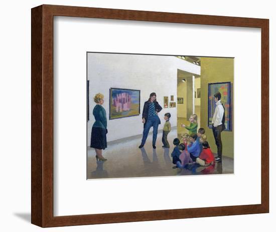 The Art Lesson, Calais-Osmund Caine-Framed Giclee Print