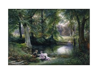 The Art Lesson-Wilhelm Trautschold-Giclee Print