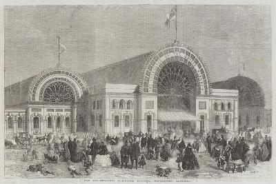The Art-Treasures Exhibition Building, Manchester, Exterior-Percy William Justyne-Giclee Print