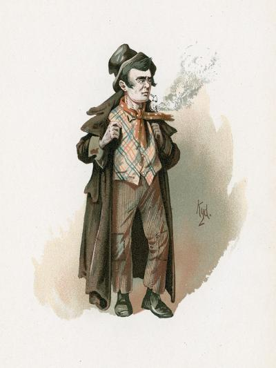 The Artful Dodger, Illustration from 'Character Sketches from Charles Dickens', C.1890-Joseph Clayton Clarke-Giclee Print