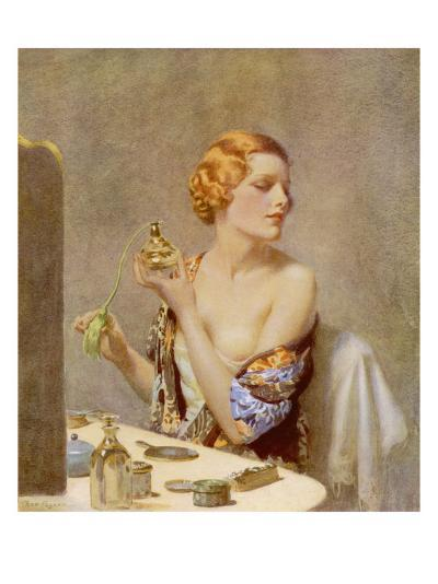 The Artist at Work by Fred Pegram--Giclee Print