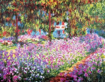 The Artist's Garden at Giverny, c.1900-Claude Monet-Art Print