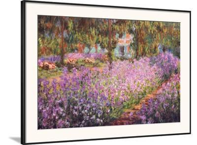 The Artist's Garden at Giverny, c.1900-Claude Monet-Framed Art Print
