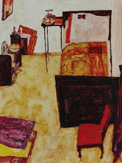 The Artist's Room in Neulengbach (My Living Room), 1911-Egon Schiele-Giclee Print