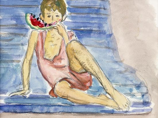 The Artist's Son-Henri Lebasque-Giclee Print
