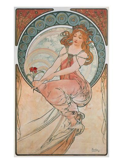 The Arts: Painting, 1898-Alphonse Mucha-Giclee Print