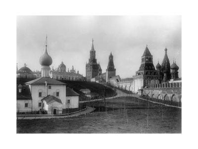 The Ascension Convent in the Moscow Kremlin, Russia, 1903-K von Hahn-Giclee Print