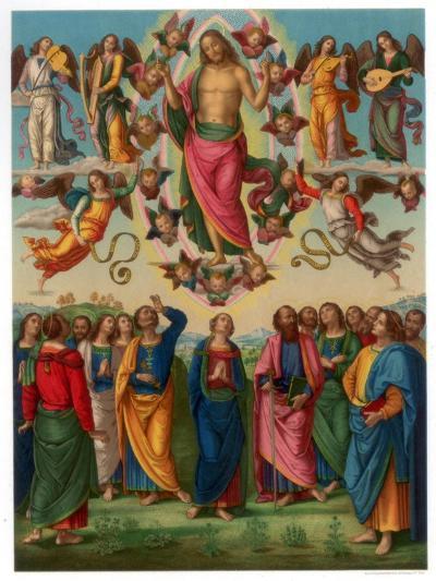 The Ascension of Christ, 1496-1498-Franz Kellerhoven-Giclee Print