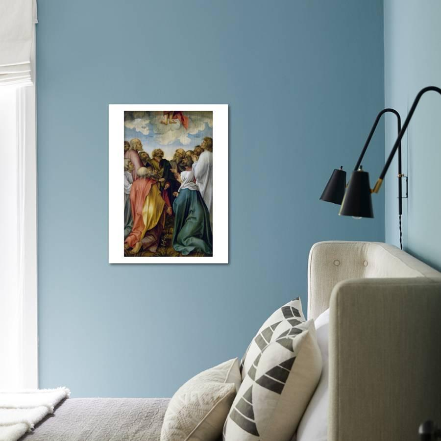 The Ascension of Christ Art Print by Hans Suess Kulmbach | the NEW ...