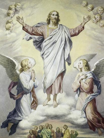 The Ascension-Heinrich Hoffman-Giclee Print