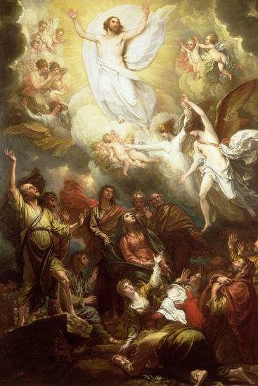 The Ascension-Benjamin West-Giclee Print
