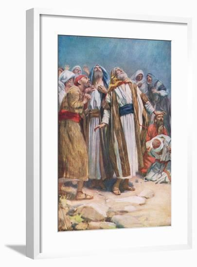 The Ascension-Harold Copping-Framed Giclee Print