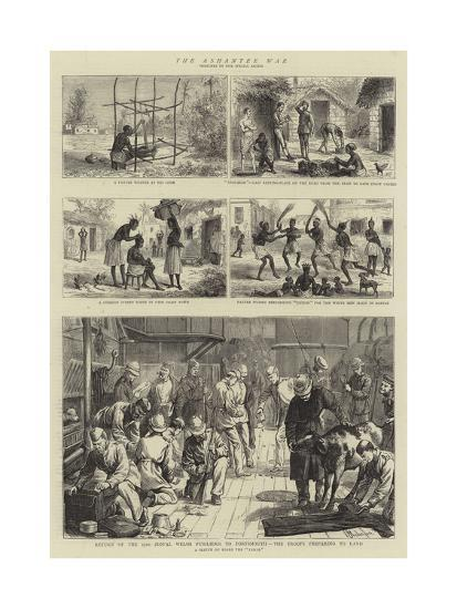 The Ashantee War--Giclee Print