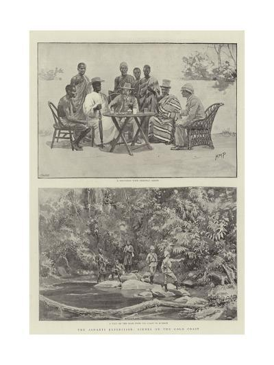 The Ashanti Expedition, Scenes on the Gold Coast-Henry Marriott Paget-Giclee Print