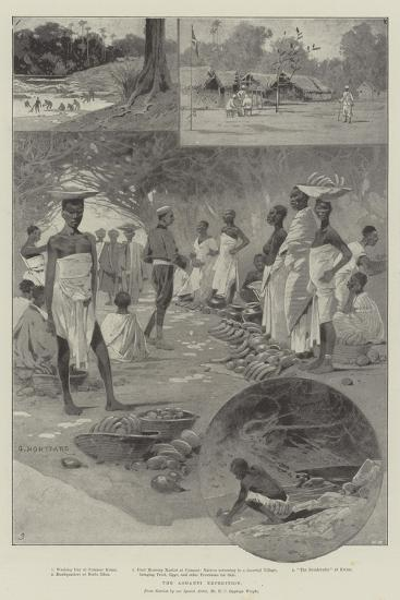 The Ashanti Expedition-Charles Auguste Loye-Giclee Print