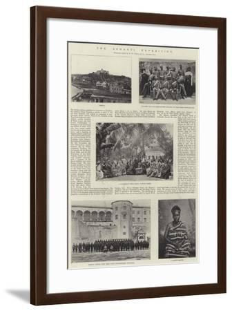 The Ashanti Expedition--Framed Giclee Print