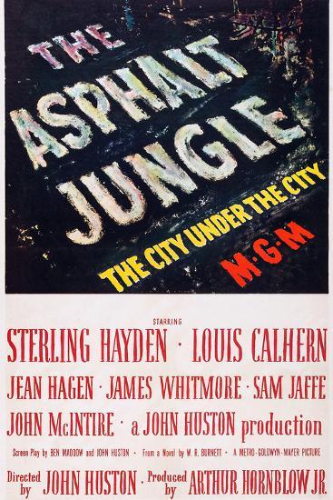 The Asphalt Jungle--Art Print
