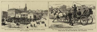 The Assassination of James Carey--Giclee Print