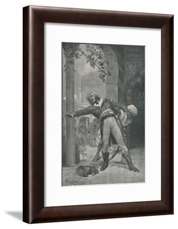 'The Assassination of Kléber at Cairo, June 14, 1800', (1896)-M Haider-Framed Giclee Print
