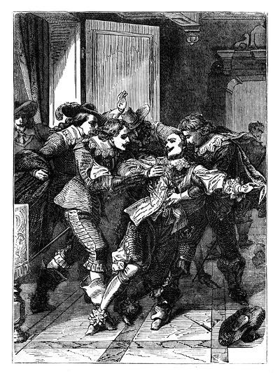 The Assassination of the Duke of Buckingham, C1902--Giclee Print