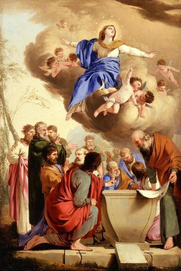The Assumption, c.1653-5-Laurent de La Hire or La Hyre-Giclee Print
