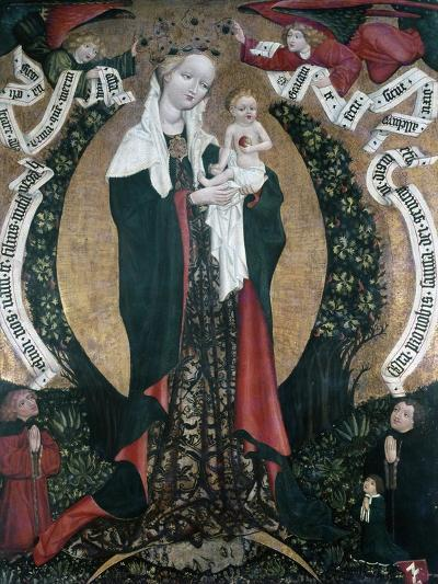 The Assumption of Destna, Ca 1450, by Unknown Artist, Bohemia, 15th Century--Giclee Print