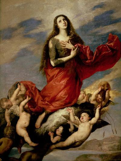 The Assumption of Mary Magdalene, 1636-Jusepe de Ribera-Giclee Print