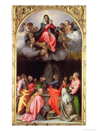 The Assumption of Mary-Andrea del Sarto-Giclee Print