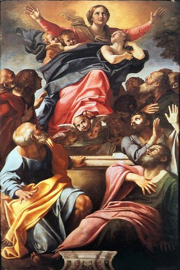 The Assumption of the Blessed Virgin Mary, 1600-1601-Annibale Carracci-Giclee Print