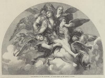 The Assumption of the Magdalen-Giulio Romano-Giclee Print