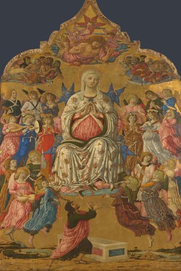 The Assumption of the Virgin, 1474-Matteo di Giovanni-Giclee Print