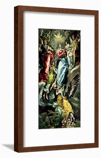The Assumption of the Virgin-El Greco-Framed Giclee Print