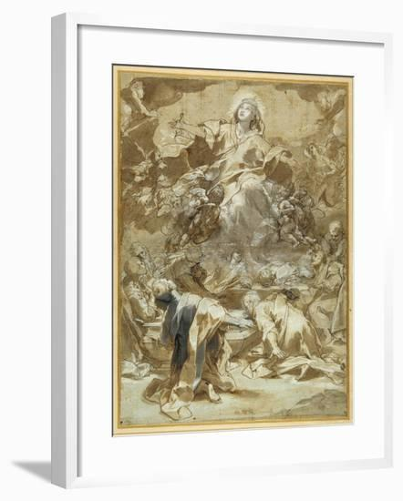 The Assumption of the Virgin-Federico Barocci-Framed Giclee Print