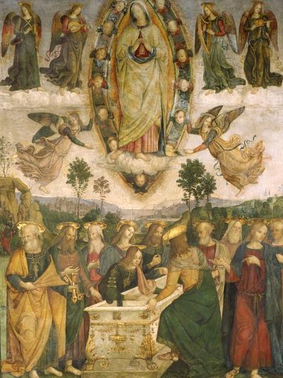 The Assumption of the Virgin-Bernardino di Betto Pinturicchio-Giclee Print