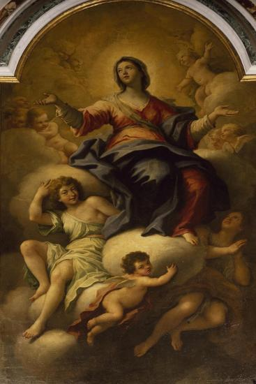 The Assumption of the Virgin--Giclee Print