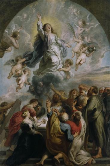 The Assumption of the Virgin-Peter Paul Rubens-Giclee Print