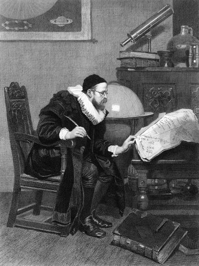 The Astrologer, C19th Century-J Demannez-Giclee Print