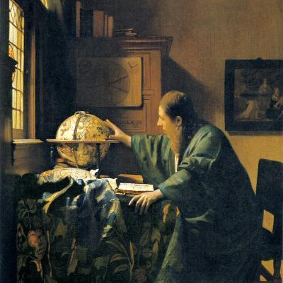 The Astronomer, 17th Century Artwork-Sheila Terry-Photographic Print
