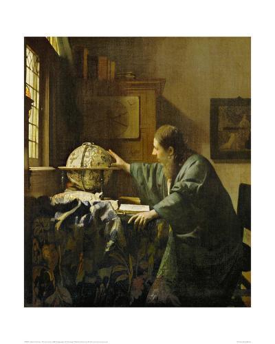 The Astronomer-Johannes Vermeer-Giclee Print