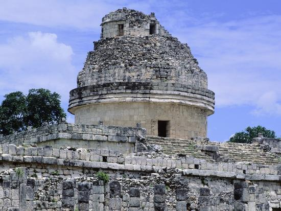 The Astronomical Observatory known as Caracol, Chichen Itza--Photographic Print